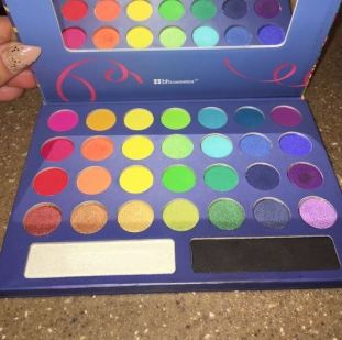 The Take Me To Brazil Palette By BH Cosmetics is one of the best eyeshadow palettes!