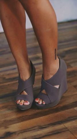 cute wedges for sorority recruitment!