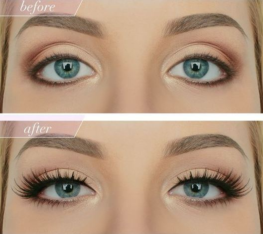 how to put on single eyelashes
