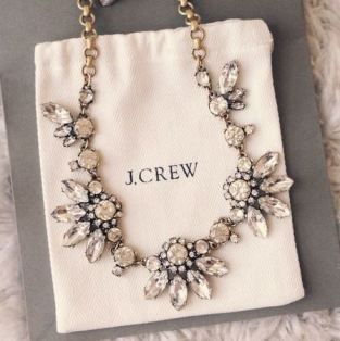 cute statement necklace for sorority recruitment!