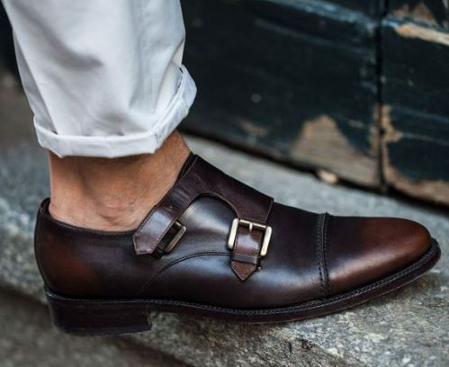 These monk-straps are so stylish and are good guys shoes!