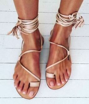 I love these sandals for spring break or for the summer!