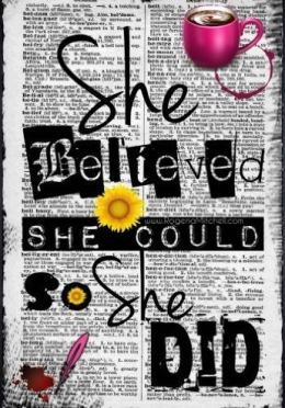 She Believed She Could So She Did is one of the best journals you can buy on Amazon!