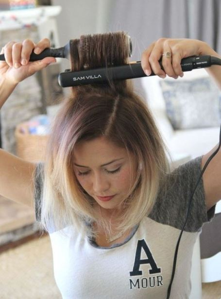 Using heat protection is one of the best tips for achieving beautiful hair!