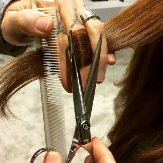Getting regular hair cuts is one of the best tips for achieving beautiful hair!