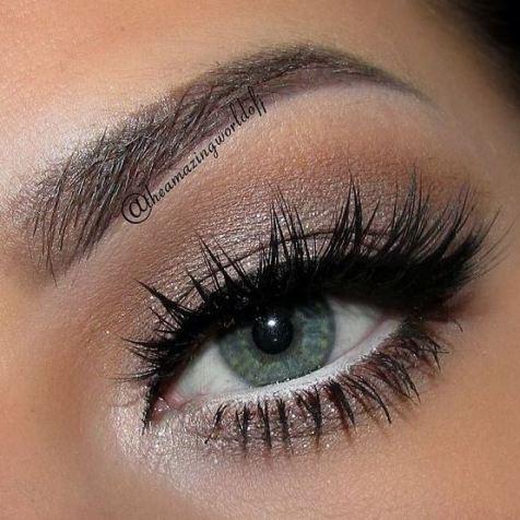white eyeliner makes your eyes pop!