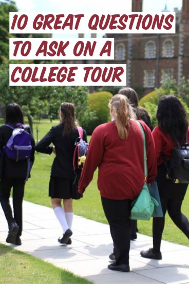 If you ask these questions on your college tour you are for sure going to get in!
