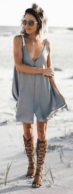 Button up dresses are cheap dresses that are super cute for the spring and summer!