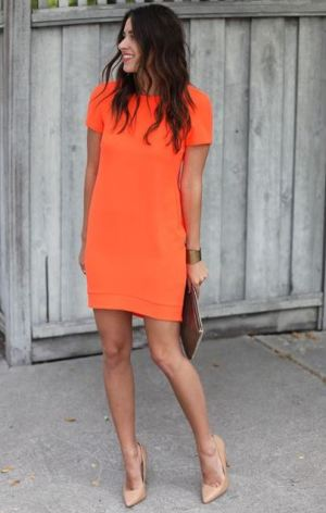 Shift dresses are cheap dresses that look super cute for the spring!