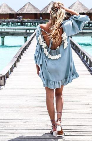 Tassel dresses are cheap dresses for the summer!
