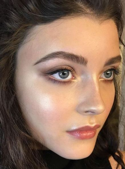 Glowing dewy skin is among the top makeup trends for 2017!