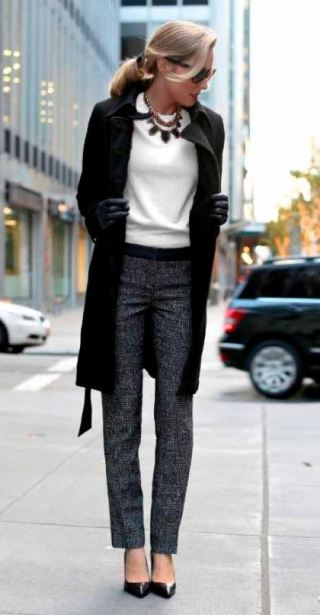 A good pair of dress pants or trousers is a great tip for how to dress for an interview!