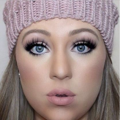 Frosty and soft shades are great for dreamy makeup looks!