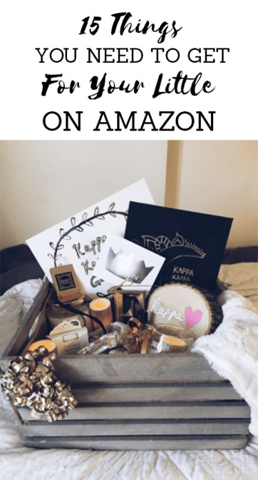 These are the things you need to get for your little off of amazon!