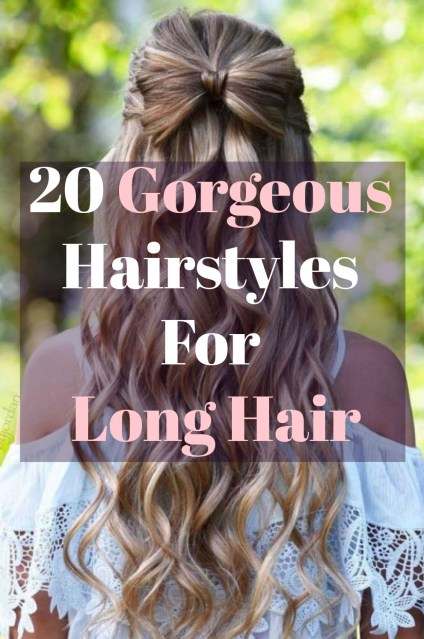 These are the most gorgeous hairstyles for long hair!