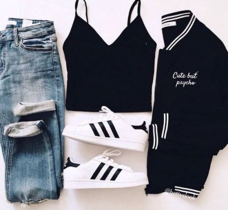best sneakers 0c40a 551be Bomber jackets are perfect accessories for cute outfits for school!