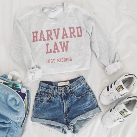Ivy League shirts are perfect for putting together cute outfits for class for school!