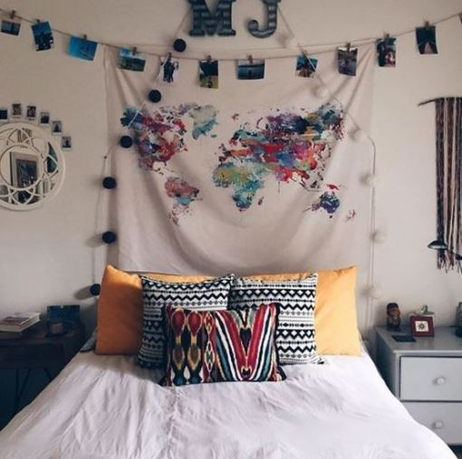 College Dorm Room Ideas Decorations Wall Art