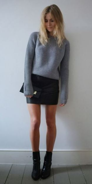 Mini skirts and dresses are definitely what not to wear to an interview!
