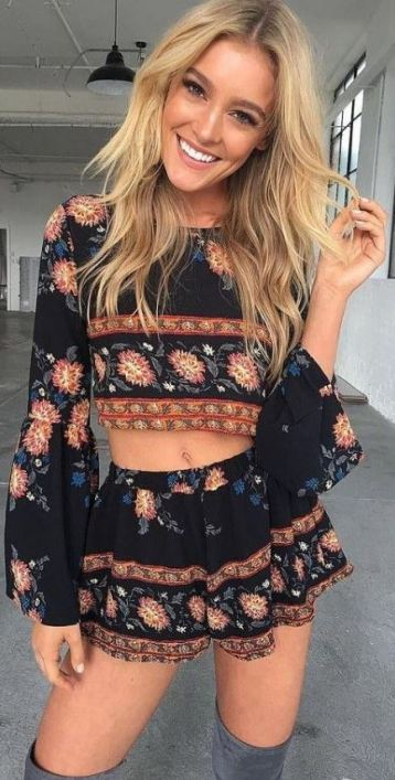 Two-piece sets are perfect for festival outfits!