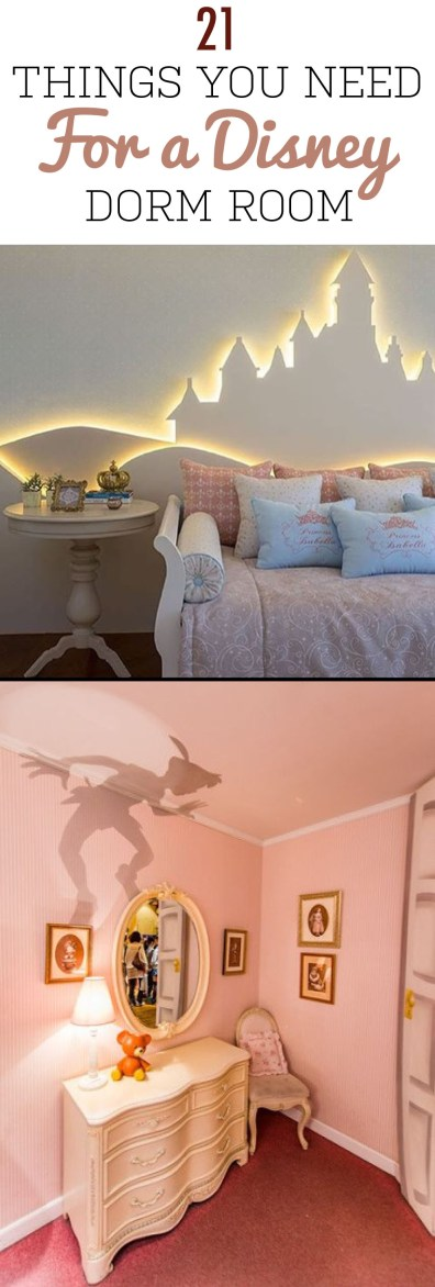 21 Things You Need For A Disney Dorm Room Society19