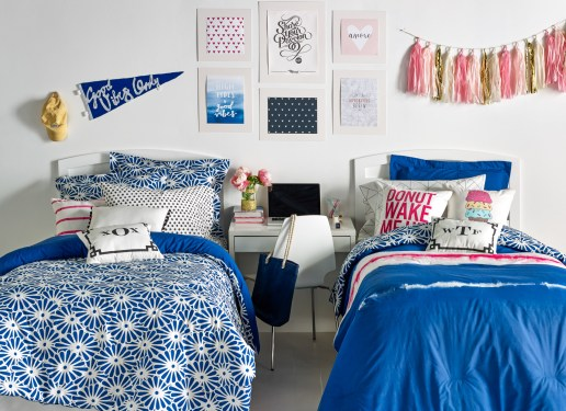 Dorm room decor is on top of the dorm room essentials checklist!