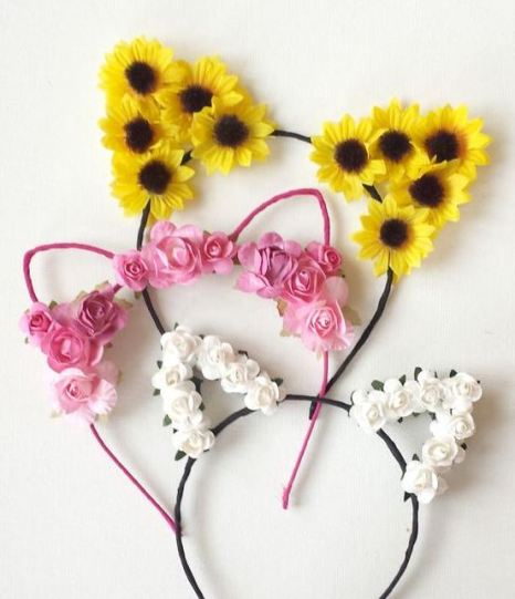 These flower crowns are so cute!