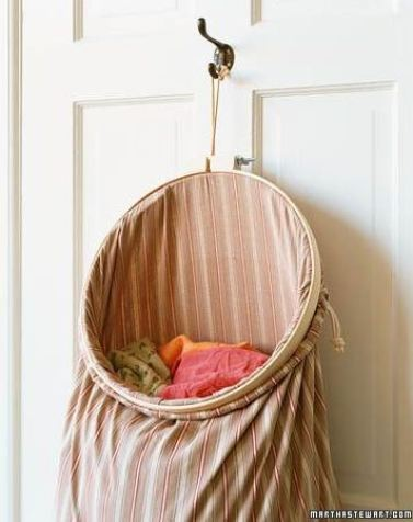 A pillow case laundry bag is a great DIY dorm room decor idea!