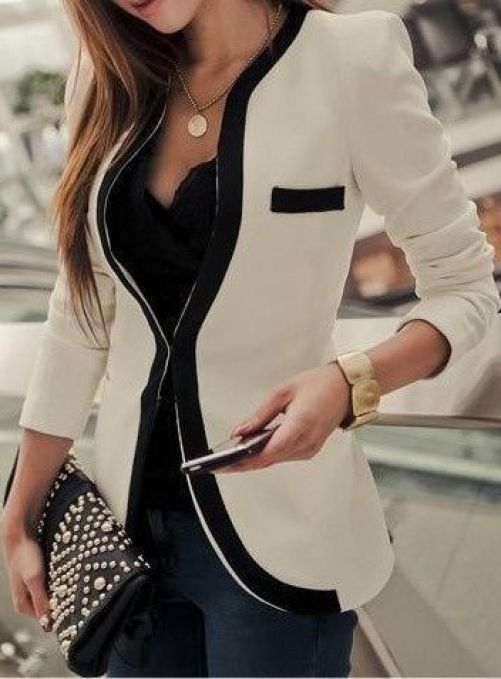Professional clothes are great to have for back to school!