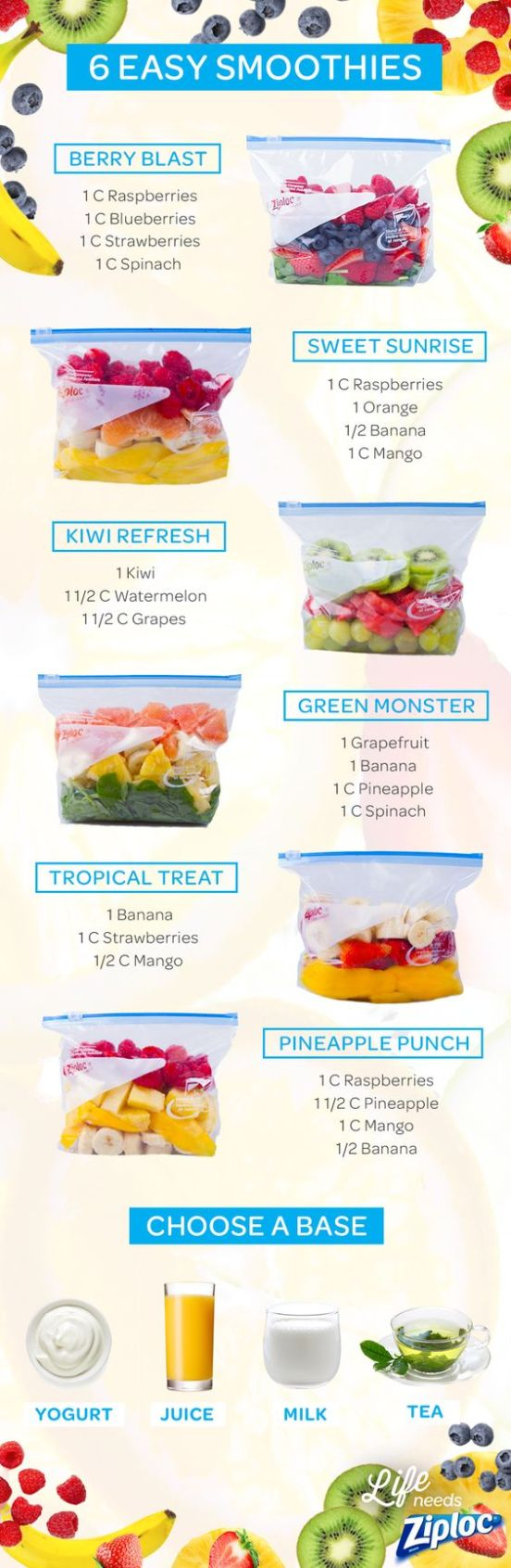 These easy smoothie recipes are perfect for post-workout!