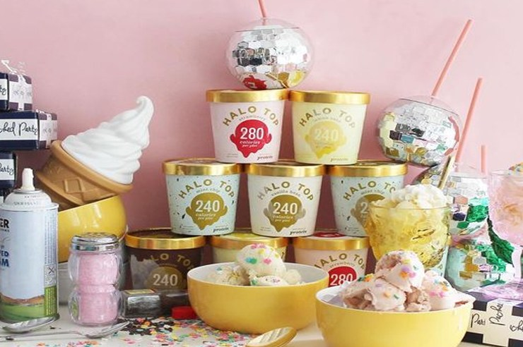 """Halo Top has become super popular for being the best """"healthy"""" ice cream. To find out if Halo ice cream was really any good, we put each flavor to the test!"""
