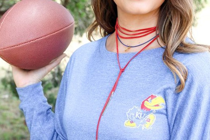 Going to Kansas University in the fall? Make sure to stock up on some of these adorable KU themed items that are all from Etsy!