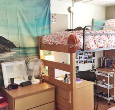 Decorating your dorm room can definitely get expensive, so here are a few hacks to help you save some money while dorm shopping!