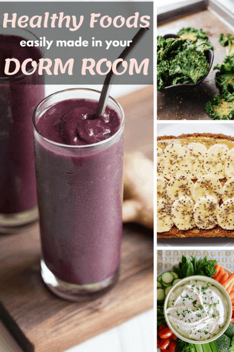 20 Healthy Food Ideas You Can Make Right In Your Dorm
