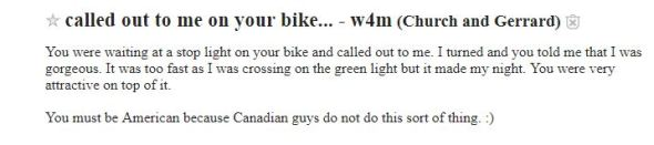 20 Craigslist Toronto Missed Connections You Need To Read
