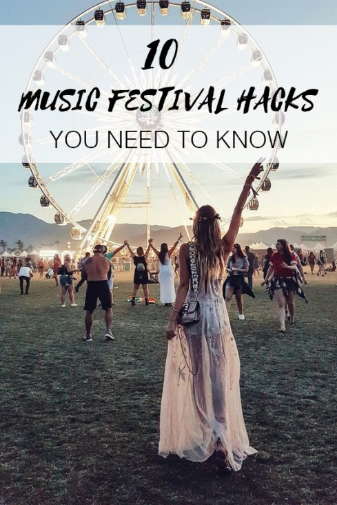 These are all the music festival hacks you need to know about!