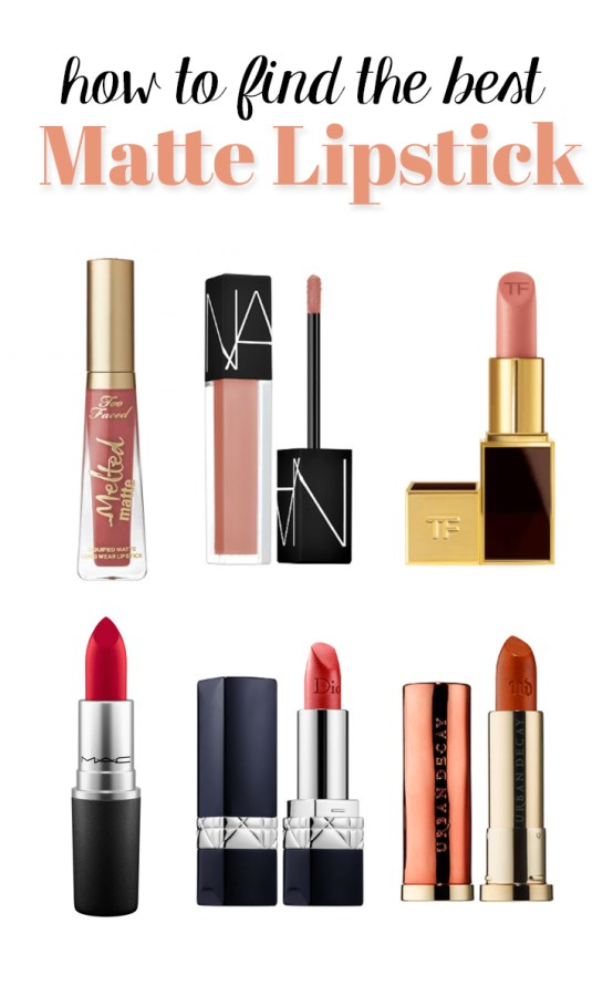These are the best matte lipsticks!