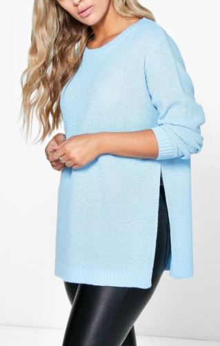 Plus size sweaters are college essentials