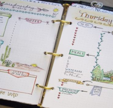 We have the ultimate guide for how to use your bullet journal. From how to design your journal, to decorating it, you'll use it all the time.