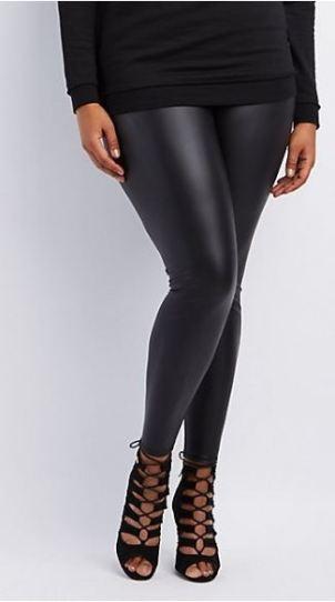 Plus size leggings are college essentials for curvy girls