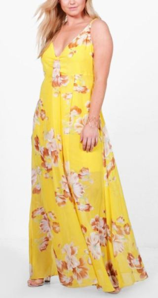 Plus size maxi dresses are college essentials for curvy girls