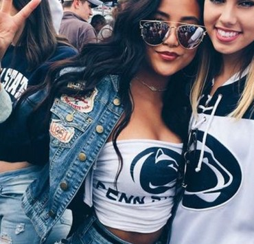 Gameday at Penn State is a huge deal and looking cute while showing off your school spirit is key. Here are gameday outfits at Penn State you NEED to copy!