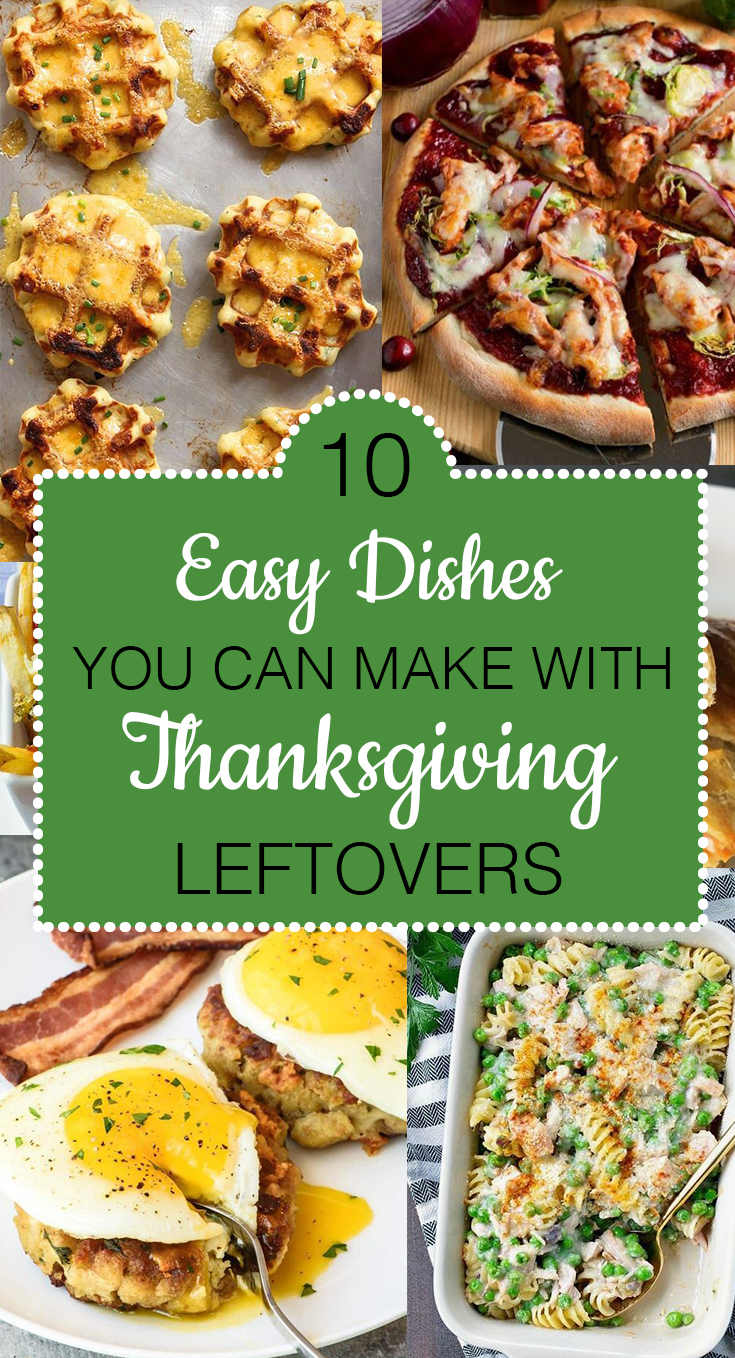Who doesn't love thanksgiving leftovers? These are the easiest dishes you make !