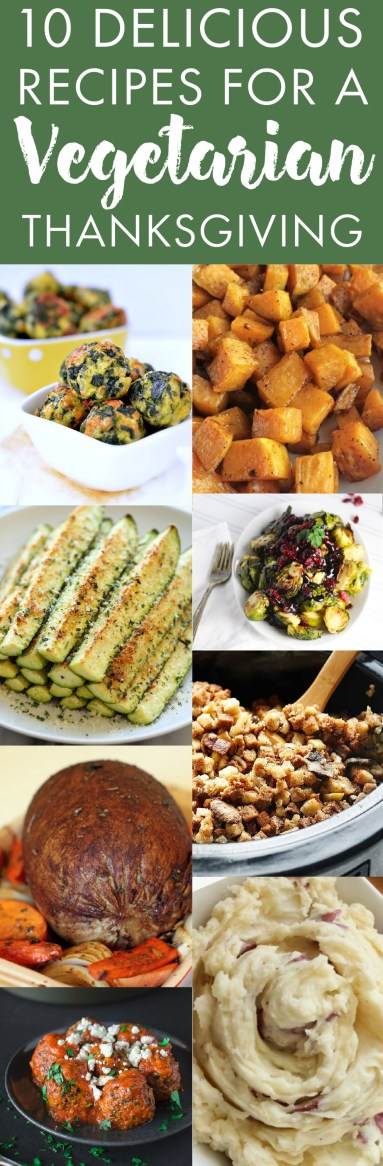 These are the best recipes for a vegetarian thanksgiving!