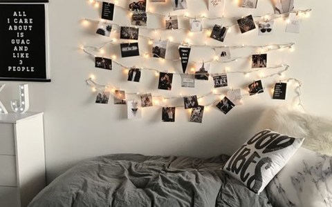 Let's face it, dorm rooms aren't the biggest spaces. Here are 20 dorm room decorating tips to make your room feel bigger!