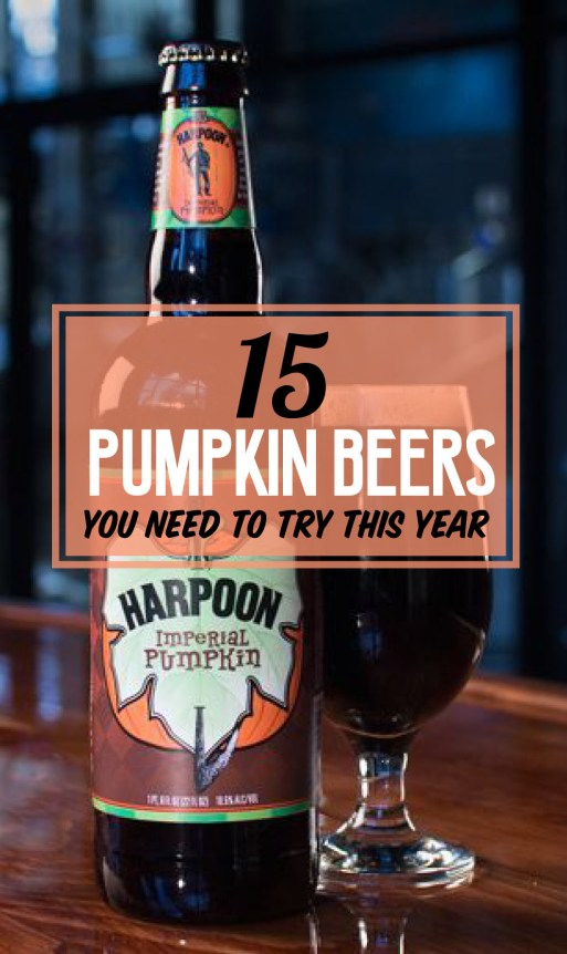 Here are the best pumpkin beers you need to try this year!