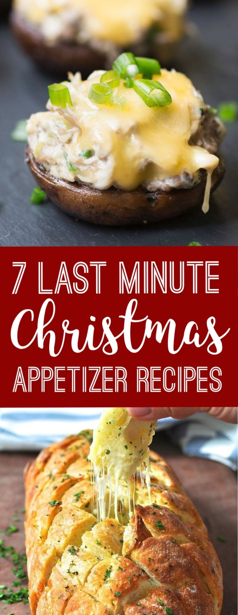 These are the best last minute Christmas appetizer recipes!