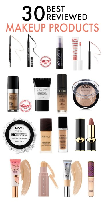 These are the best reviewed makeup products ever!