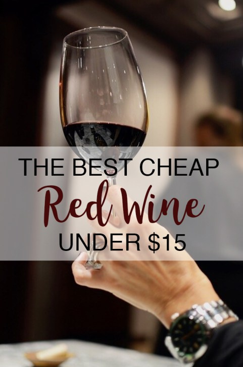 Red wine is good, but not always cheap. Here is your guide to the best cheap red wine!