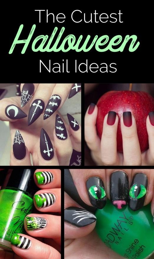 Halloween nail art ideas that are super cute!